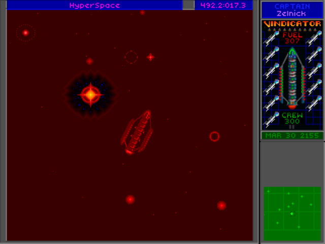 STAR CONTROL 2 Hyperspace